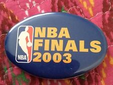 BASKETBALL PIN, NBA FINALS 2003 Collectable Pin