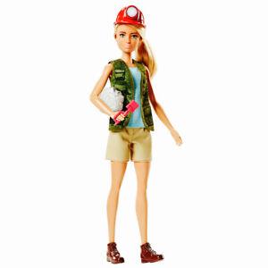 Barbie Careers - Paleontologist Fossil - Brand new in Box -  FJB12