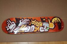 """Krooked Mark Gonzalez Sell Out In Shops Not In Hell 8.18"""" x 32"""" Skateboard Deck"""