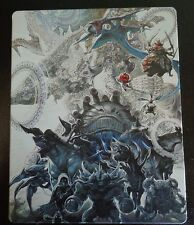 Final Fantasy XII The Zodiac Age Collector's Edition Steelbook + Game + OST +DLC