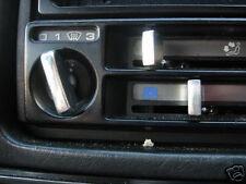 VW GOLF MK2 CHROME *METAL* HEATER CONTROLS - RARE !