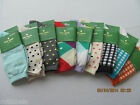 NWT Kate Spade Fun Casual Trendy Ankle Trouser Socks Womens Patterned