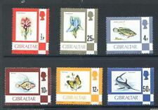 Gibraltar 1981-82 6v chalky paper Definitves mint unmounted (2014/02/27#07)