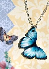 ALPINE ADE DESIGNS BEAUTIFUL BUTTERFLY MOTIF NECKLACE H23 USA Made FAST SHIPPING