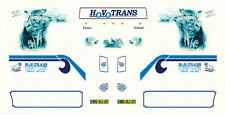 "Decal f. VOLVO FH SZM "" HOVOTRANS / DRIVING WITH WOLFES "" 1/87 Eigenbau"