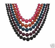 Bead Necklaces, Graduated Style, Set of FIVE
