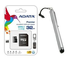 A-data 32 GB Micro SDHC Class 10 MEMORY CARD + Stylus FOR GALAXY S3 S4 S5 NOTE 3