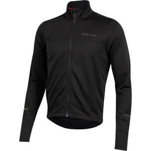 PEARL IZUMI QUEST THERMAL LONG SLEEVE CYCLING JERSEY, BLACK, LARGE