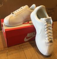 NIKE Cortez Men's Basic Leather Casual Athletic Shoes 819719-110 Medium - NEW