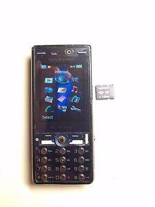 sony ericsson k810i cybershot mobile phone cellphone boxed