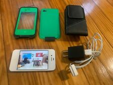 iPhone Near Mint 4 or 4s Bundle with everything in photos High Res Cam