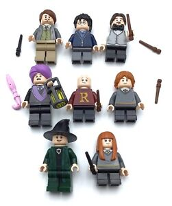 LEGO LOT OF 8 HARRY POTTER MINIFIGURES SERIES COLLECTIBLE FIGS PROFESSOR MORE