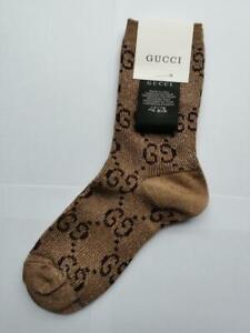 Gucci Cotton Blend Socks Monogram One size