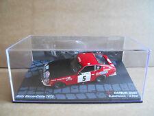 Rally Model Car IXO 1:43 DATSUN 240 Z Monte Carlo 1972 R. Aaltonen J.Todt [MZ14]