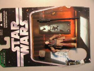 Star Wars 2006 Princess Leia (Boussh Disguise) 100% Complete w/Card C-6 Hasbro!!