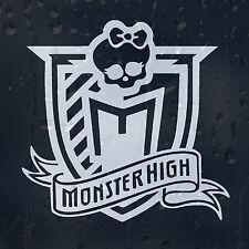 Signo de Monster High Coche O Portátil Calcomanía Vinilo Adhesivo Para Ventana Panel De Parachoques