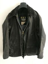 Mens Barbour Bedale wax jacket Dark Blue coat 40 in size Medium / Large M/L #7