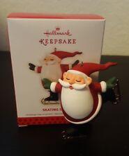 2013 Ice Skating Santa Claus Christmas Hallmark Keepsake Ornament