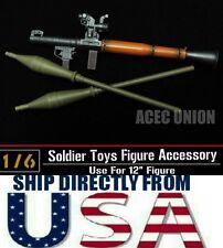 1/6 Scale ZY Toys Soldiers Model Antitank Bazooka RPG-7 WWC Weapon U.S.A. SELLER