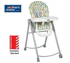 New Mother's Choice Happy Pears Hi Lo High Chair for Infant Baby Toddler Kids