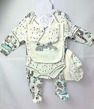 5 Piece Bebe' Baby Animal Clothing Set