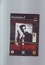 MAX PAYNE - PLAYSTATION 2 PS2 GAME / 60GB PS3 COMPATIBLE - ORIGINAL & COMPLETE