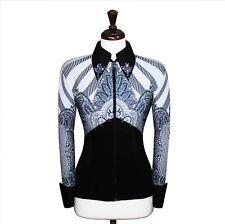 Large Showmanship Pleasure Horsemanship Show Jacket Shirt Rodeo Queen Rails Top