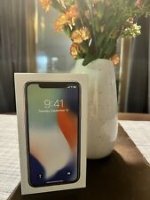 New listing Apple iPhone X - 64Gb - Silver (Unlocked) A1901 (Gsm) (Ca), Preowned