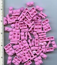 LEGO x 100 Bright Pink Plate 1 x 2 NEW bulk lot Friends