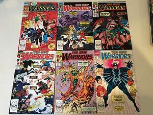 The New Warriors #1-75 NM+ condition missing 3 issues only HIGH GRADE