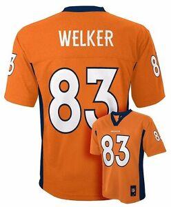 ($55)NFL Denver Broncos Wes Welker Jersey #83 Sz L 14/16, XL 18/20 NWT YOUTH