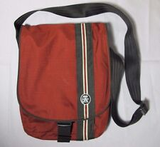 Crumpler FRIDAY NYLONS Messenger Laptop Crossbody Bag Brown Rust 13""