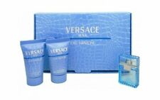 VERSACE MAN Eau Fraiche 0.17 oz EDT mini + 25 ml after shave & shower gel SET