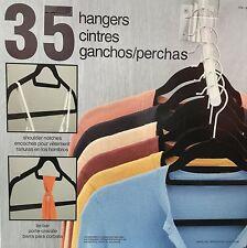 NOB Soft Non-Slip Space Saving Hangers (35 Hangers)