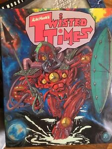 Alan Moore's Twisted Times  Titan Books Good condition!