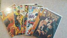 Lot of 7 DC's Demon comics