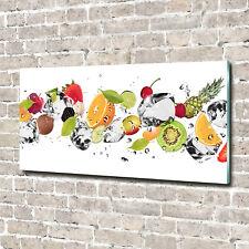Acrylglas-Bild Wandbilder Druck 140x70 Deko Essen & Getränke Obst Wasser