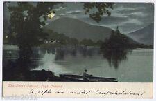 The Swan Island, Loch Lomond, Dumbartonshire, Scotland vintage Postcard 1904