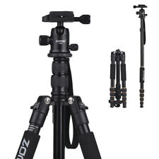 ZOMEI Q666 Aluminum Tripod Monopod & Ball Head for Canon Nikon DSLR Camera Q0W2