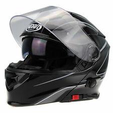 V-CAN V-271 FLIP UP FRONT MOTORCYCLE BLUETOOTH CRASH HELMET MODULAR ACU SML