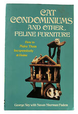Cat Condominiums and Other Feline Furniture Plans On How To Make Them FREE SHIP