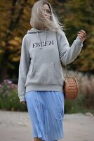 Erdem x H&M Grey Hoodie Sweatshirt Size Small