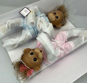 Ashton-Drake Galleries Double Trouble Monkey Dolls