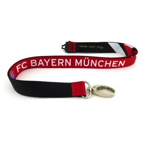 BAYERN MUNICH LANYARD WITH DETACHABLE BUCKLE 1″ OFFICIALLY LICENSED