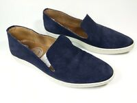 Eminence Navy Suede Leather Slip On Trainers Uk 3.5 Eu 36
