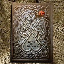 Book of Shadows Journal Hand embossed ideal for Harry Potter/wicca/witches