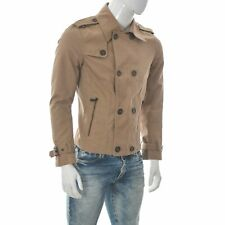 New listing ZARA Man Men's Double Breasted Military Style Short Jacket Size EUR-L large