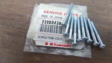 Kawasaki 4x30 Pan Cross Screws 1983-1984 KX250 1979-1980 KZ1000 220B0430 QTY9