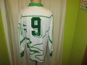 """Werder Bremen Puma Matchworn Meister Jersey 1992/93 """" DBV """" +Nr.9 +Signed GR.L"""