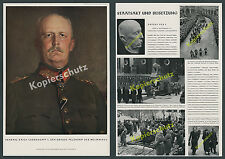 General Ludendorff Tod Staatsakt München Beisetzung Tutzing Armee Weltkrieg 1937